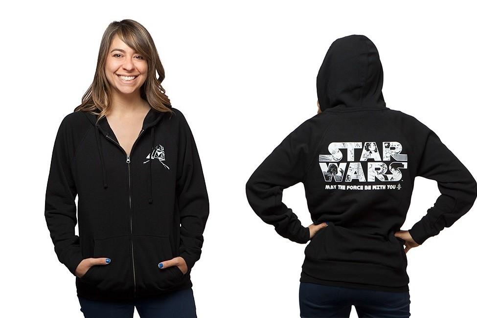 Women's Star Wars anime hoodie