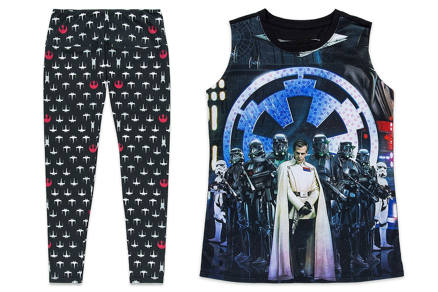 New women's apparel at the Disney Store