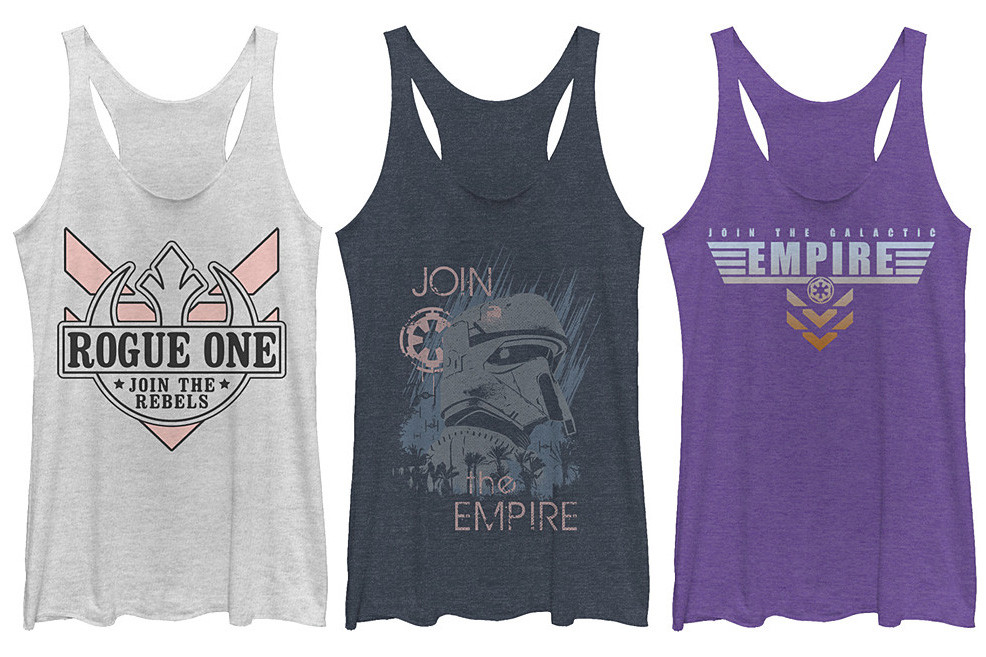 Women's Rogue One apparel at Zulily