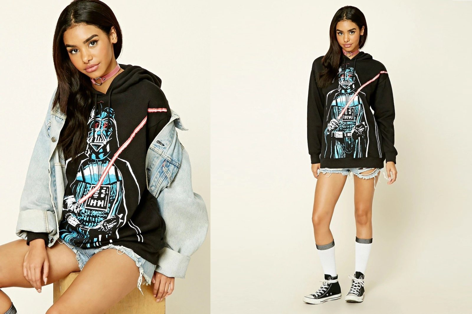 Women's Darth Vader hoodie at Forever 21