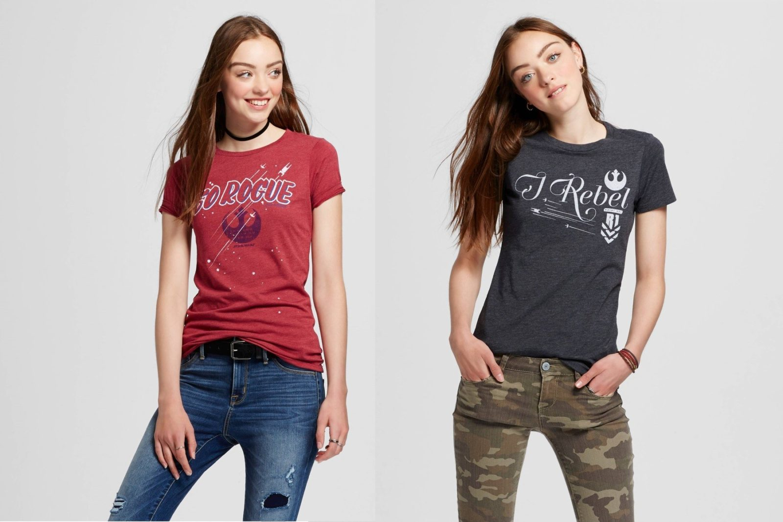 Force 4 Fashion Rogue One tees at Target