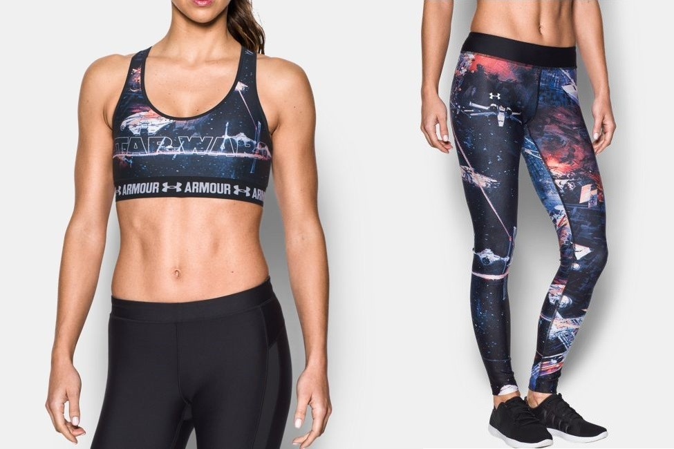Under Armour x Star Wars athletic apparel