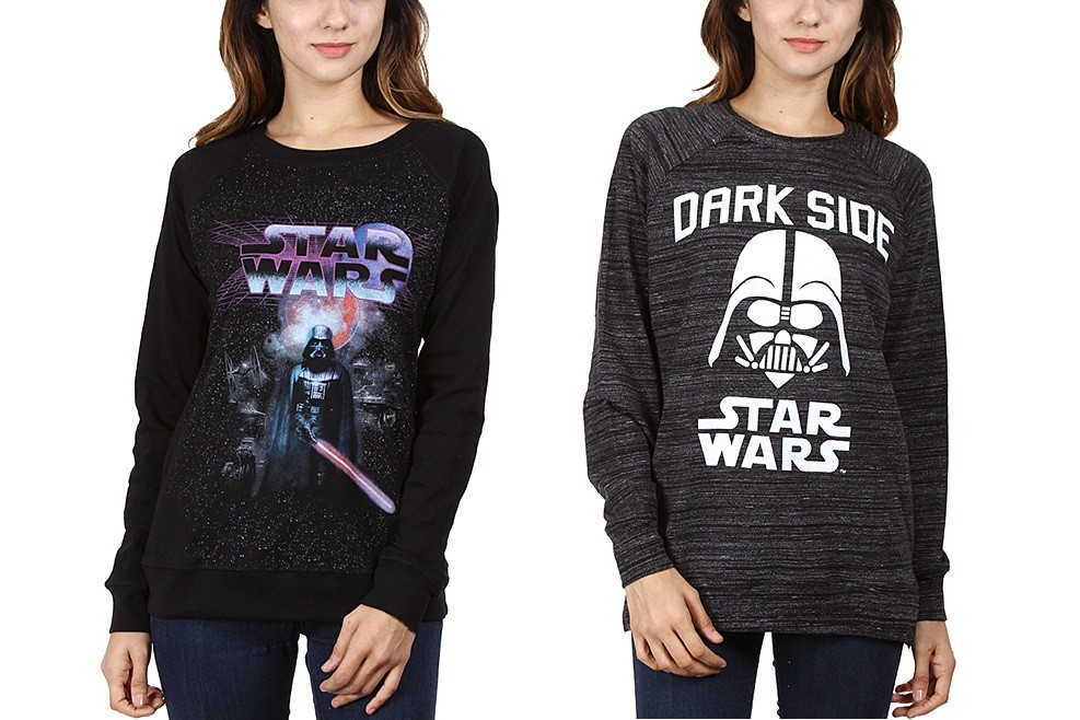Women's Star Wars apparel at Zulily