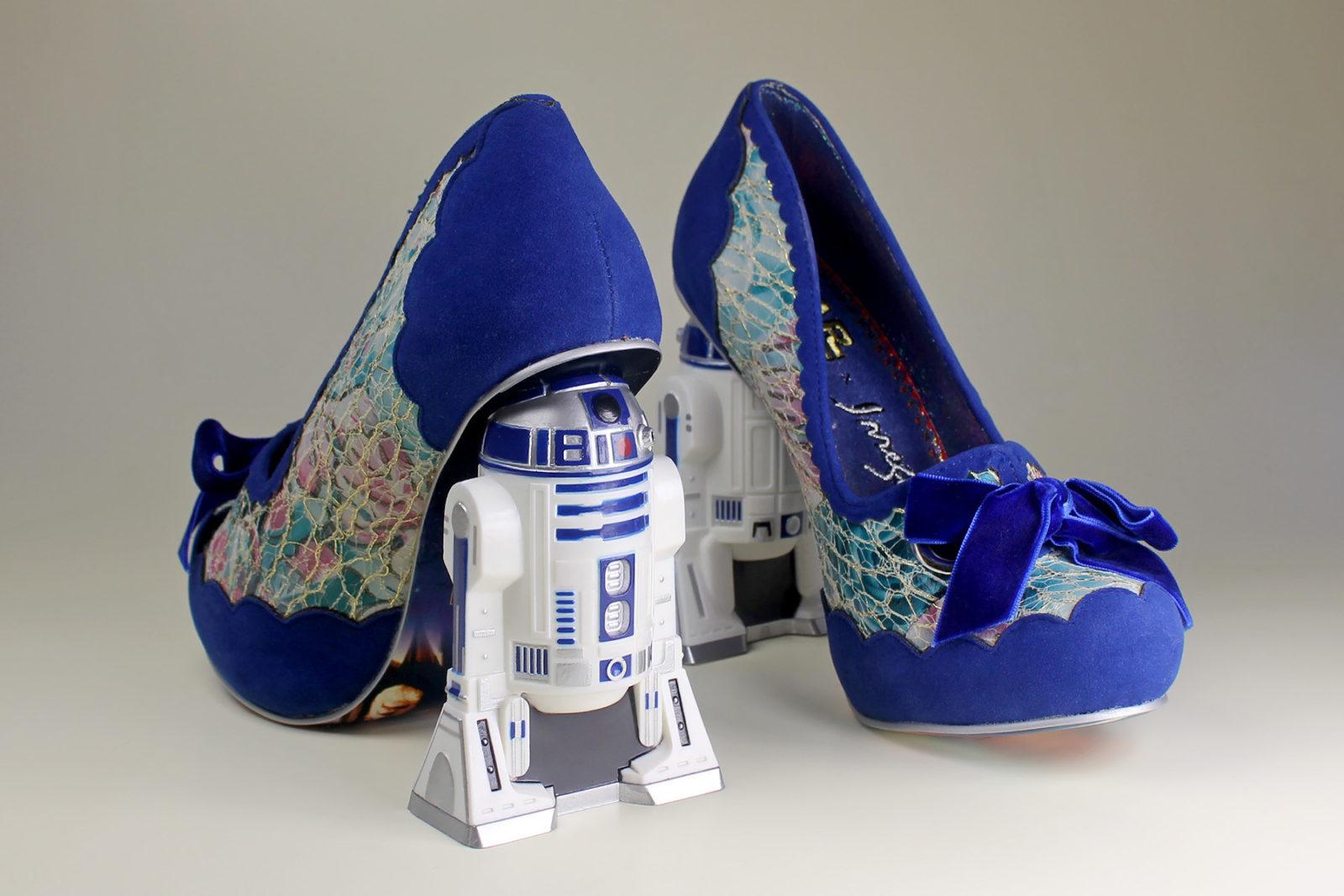 Irregular Choice x Star Wars R2-D2 heels