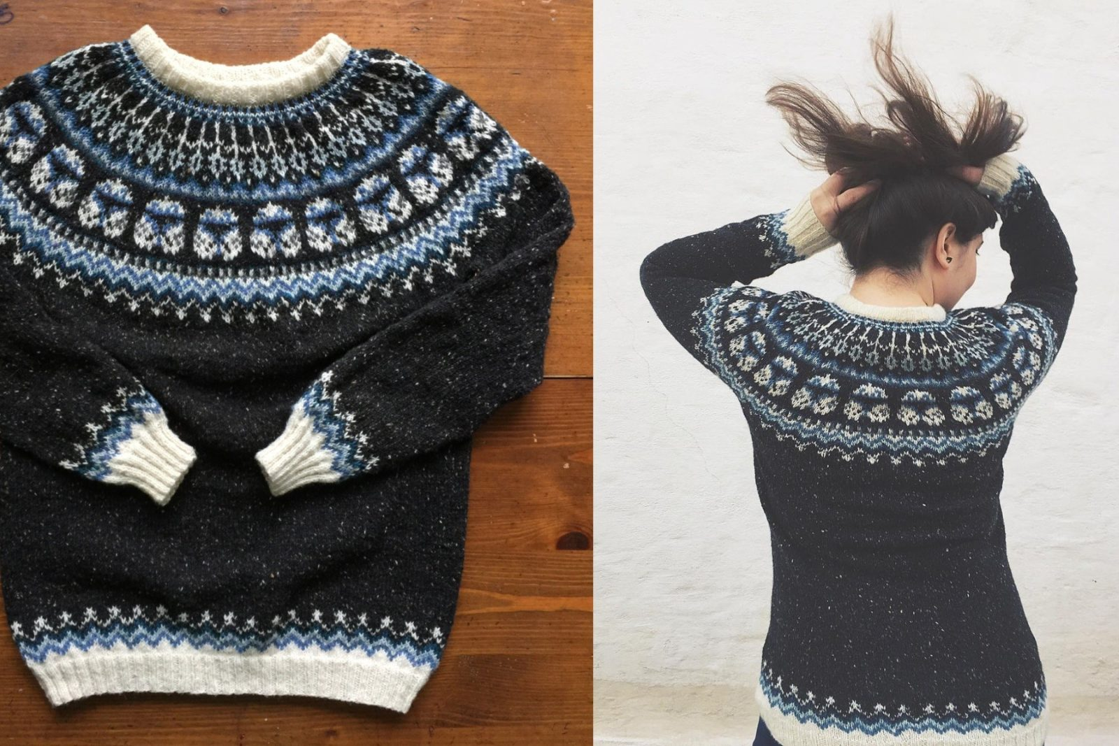 Hand knitted Captain Rex sweater available from Etsy seller Natela Datura Design