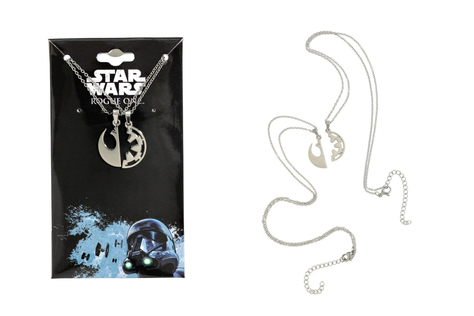 Rogue One Best Friends necklace set available at Hot Topic