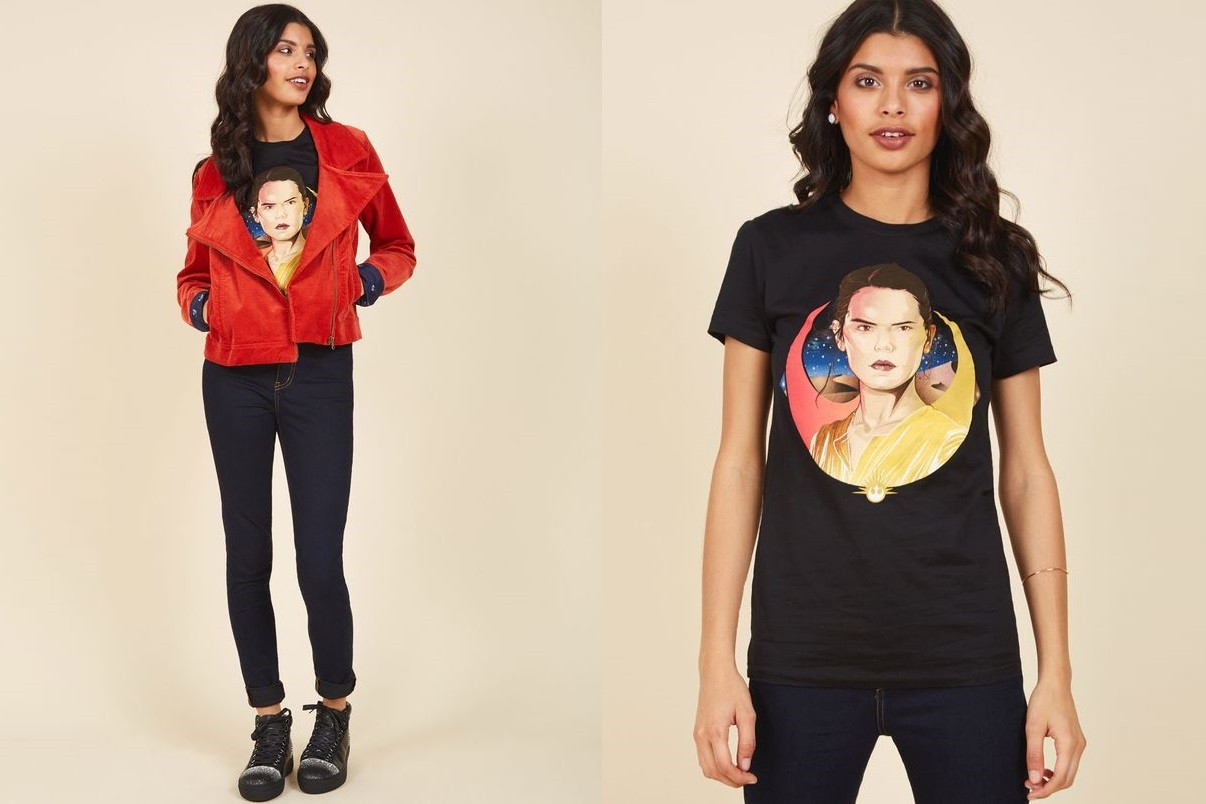 Women's Star Wars Rey Tee Back at ModCloth