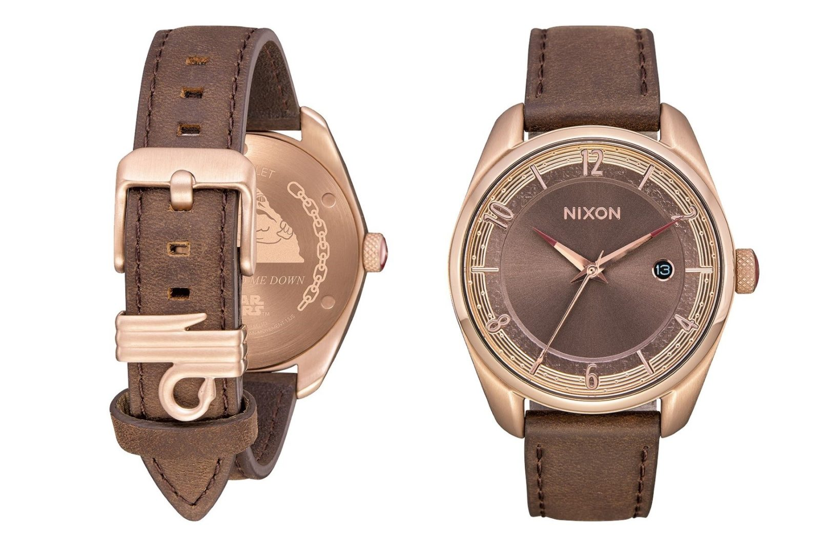 Nixon Princess Leia watch at ThinkGeek