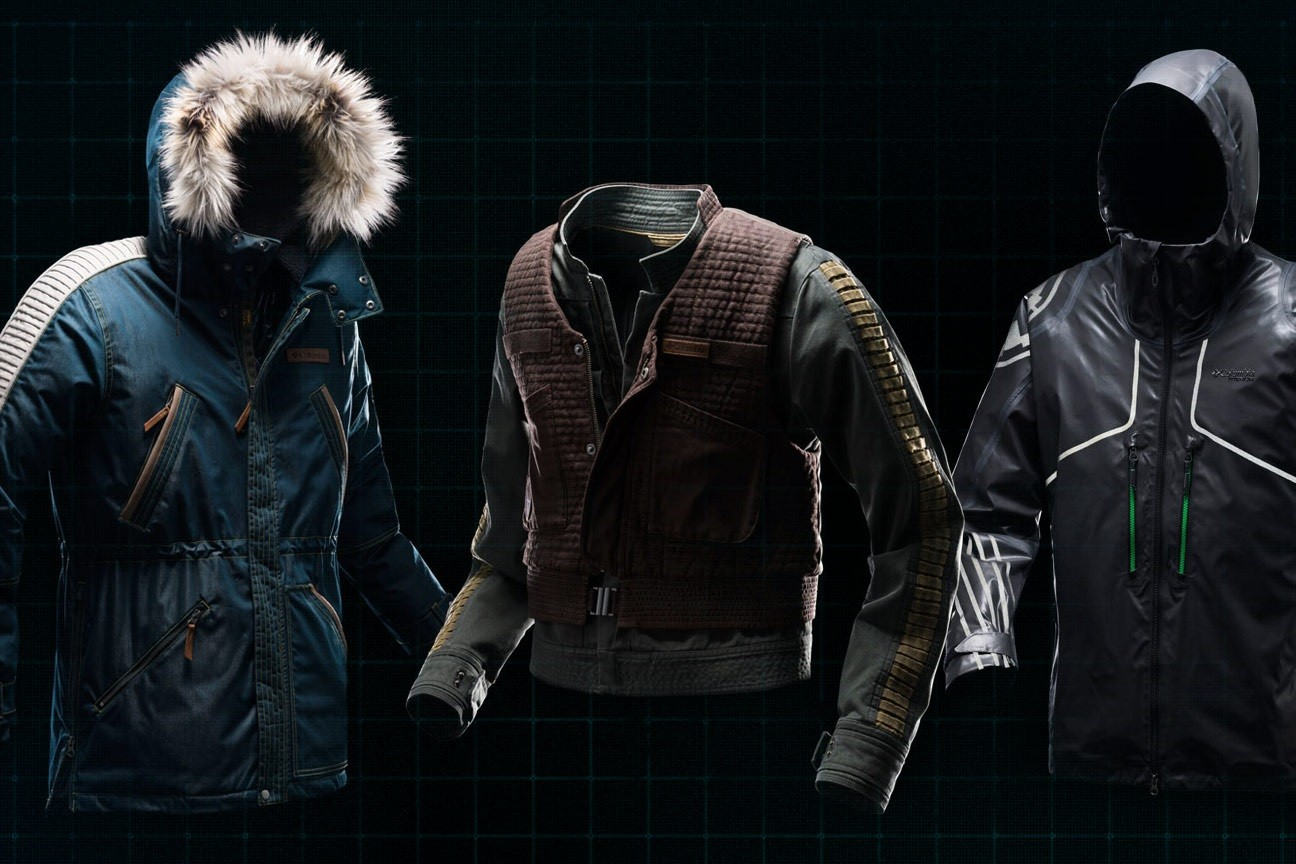 Columbia Sportswear x Star Wars Rogue One jacket collection