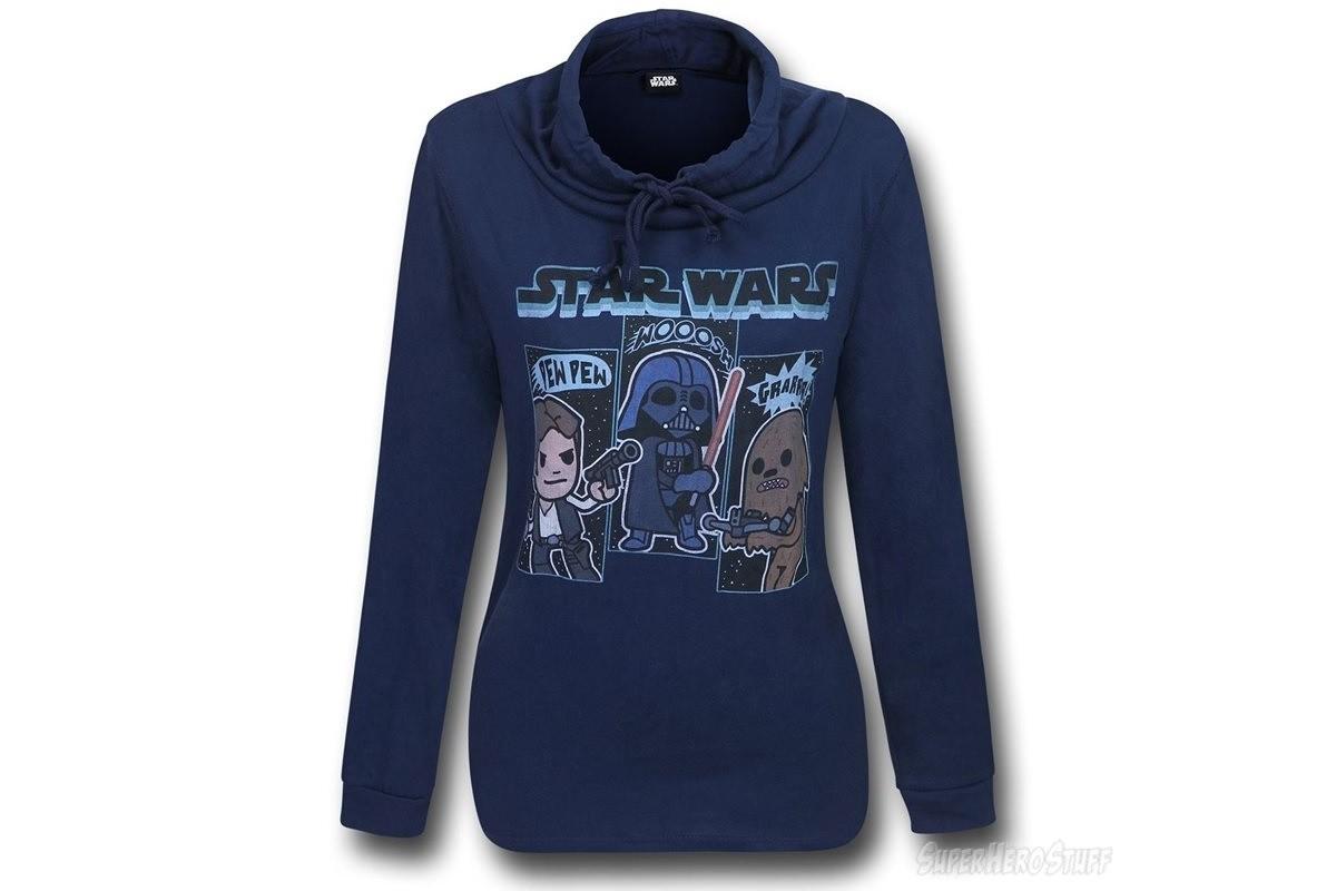 Women's Star Wars sweatshirt at SuperHeroStuff