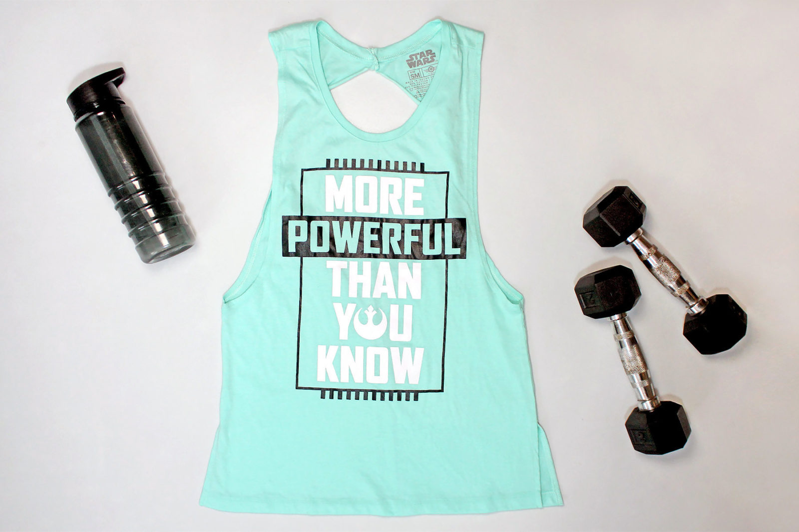 Women's Star Wars 'More Powerful Than You Know' tank top by Mad Engine
