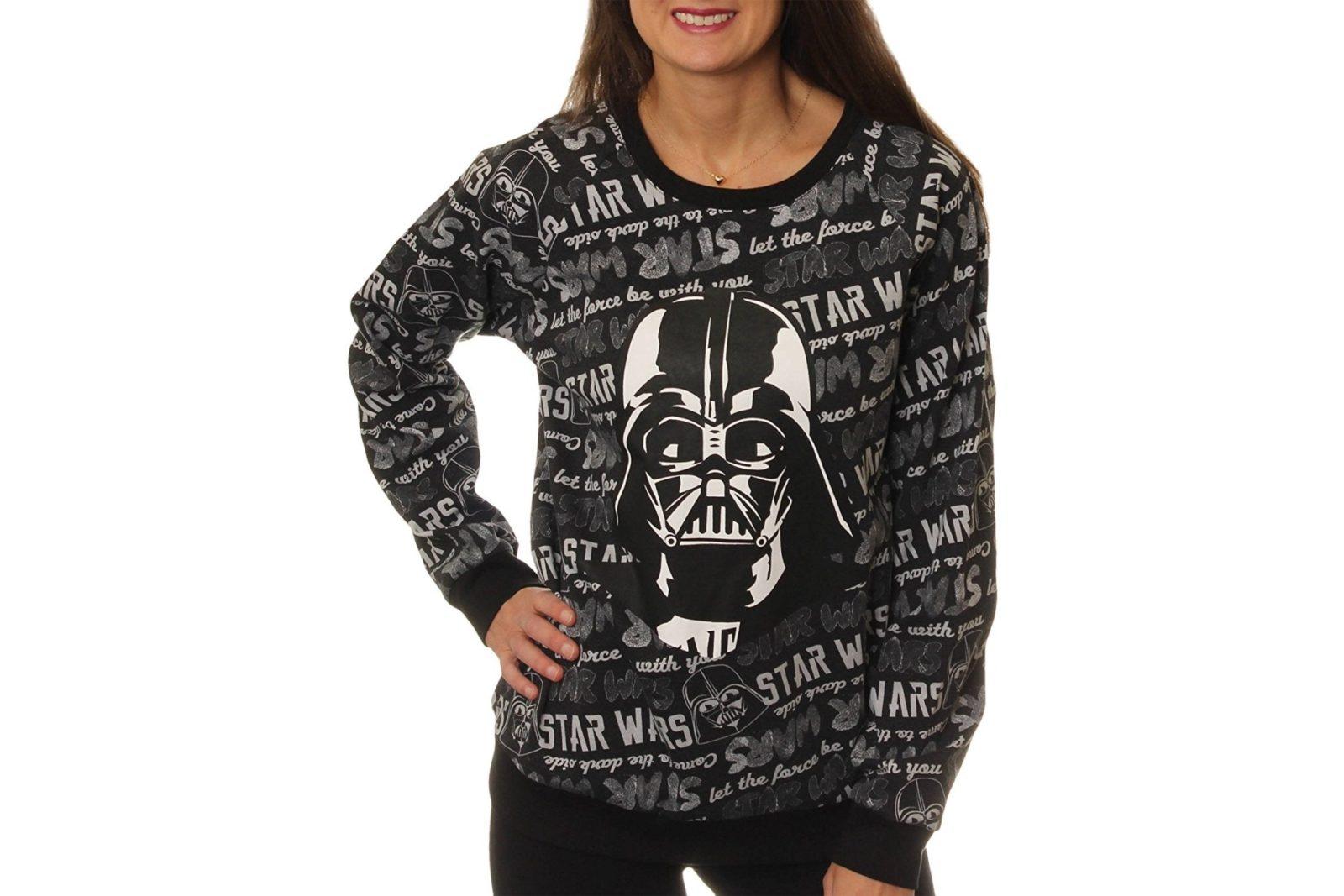 Women's Darth Vader pullover sweater