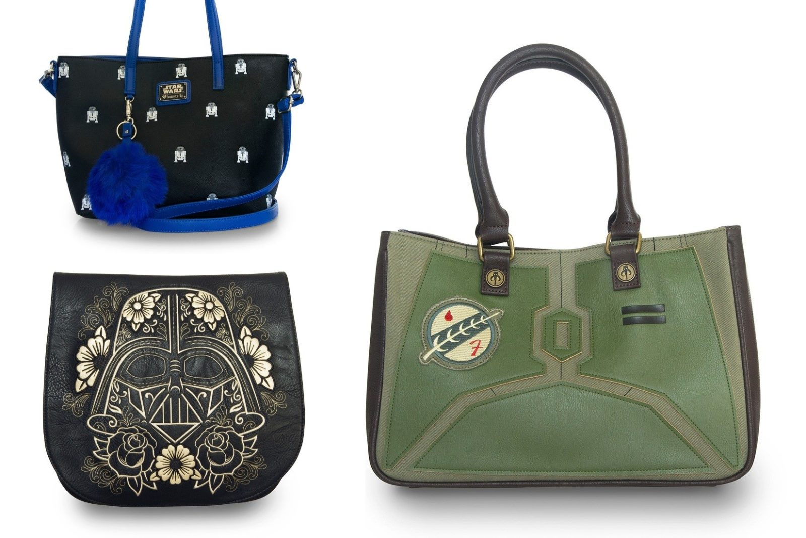 New Loungefly x Star Wars range of handbags and wallets