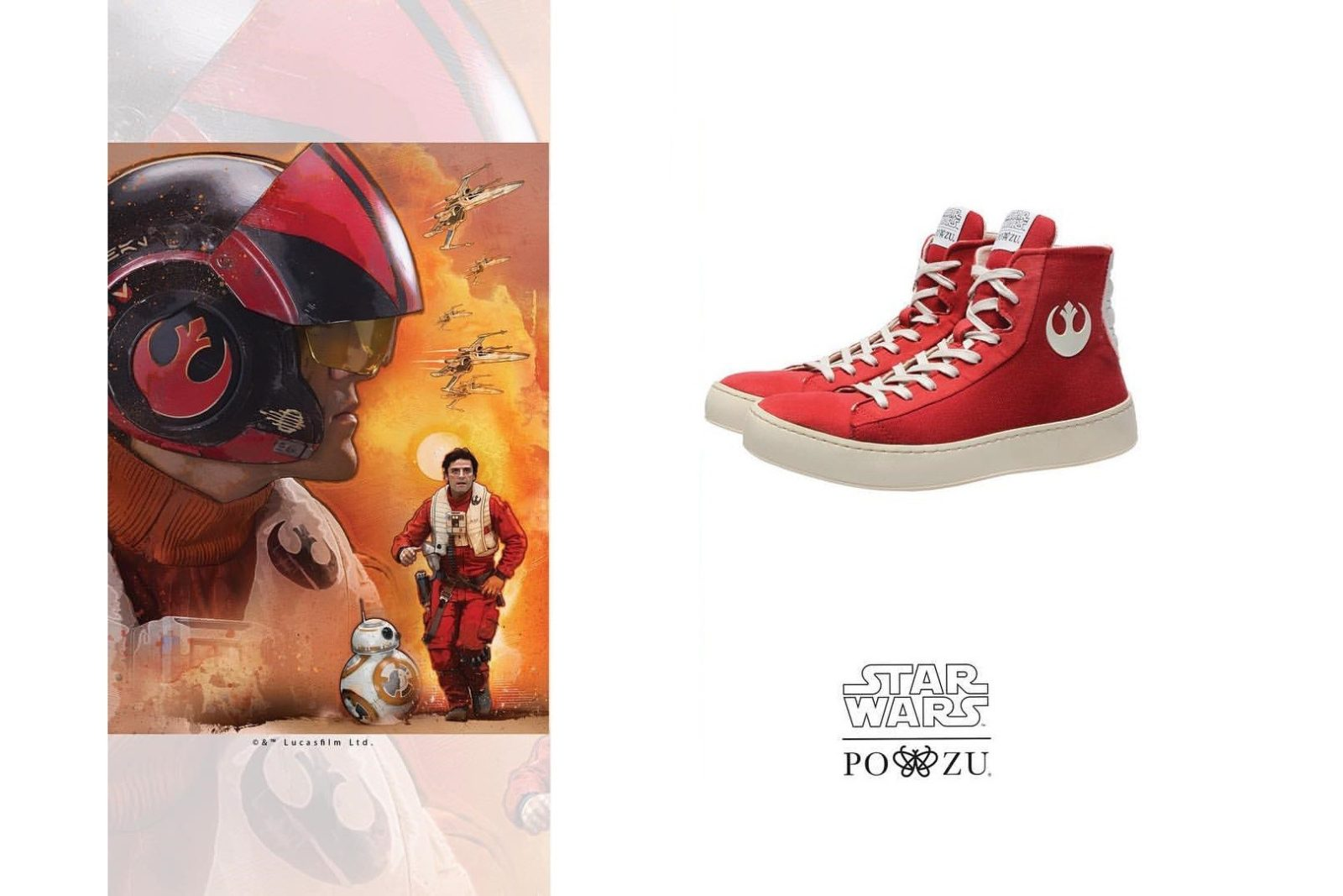 Po-Zu x Star Wars Resistance shoe preview!