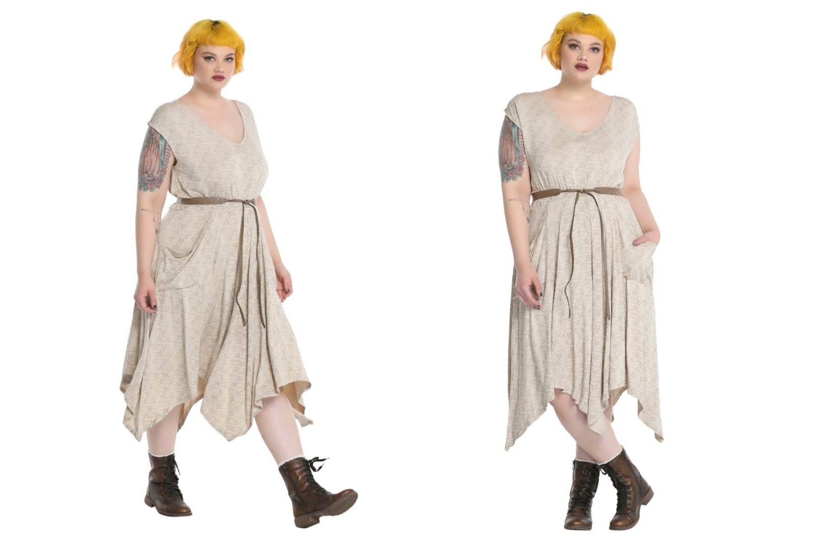 Women's plus size Rey dress at Hot Topic