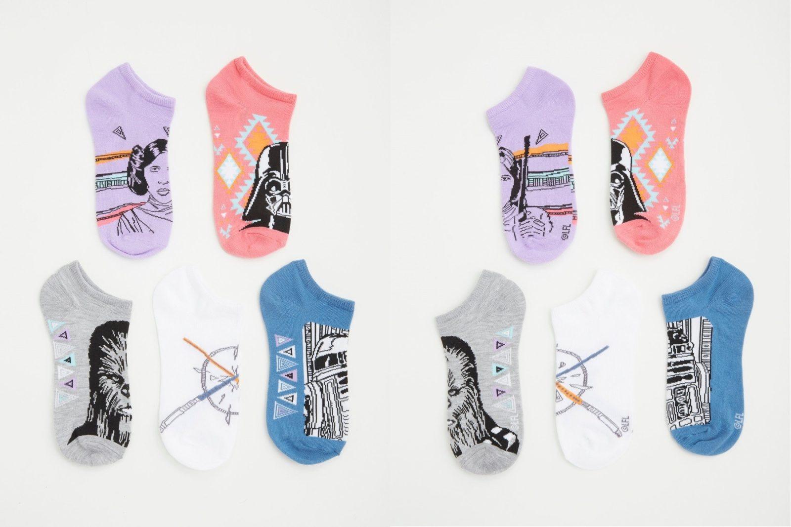New Star Wars ankle sock pack at Torrid