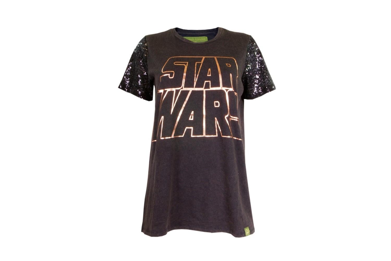 Star Wars sequin sleeve tee at We Love Fine
