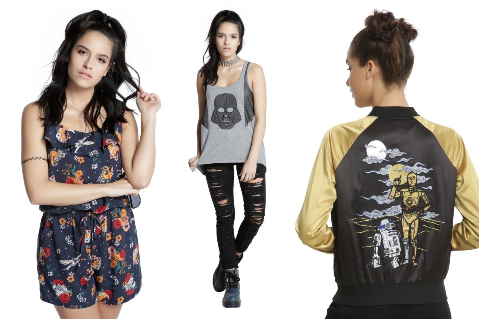 New Her Universe fashion at Hot Topic