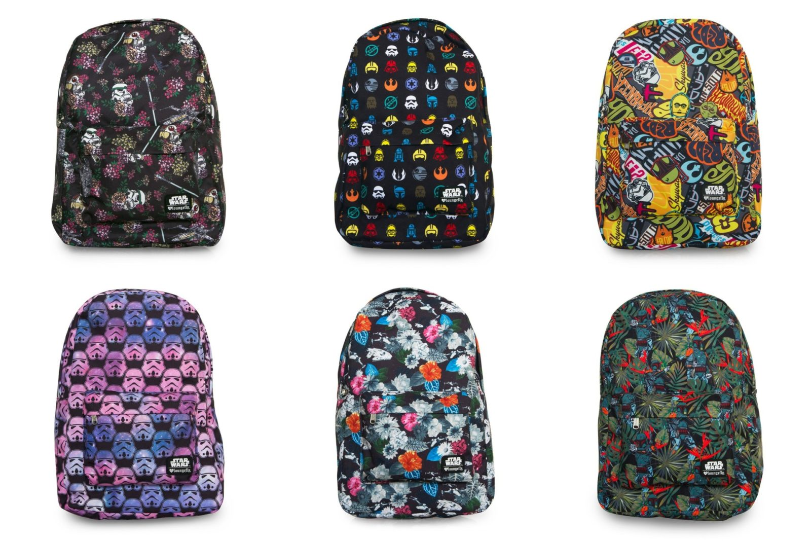 New Loungefly Star Wars backpack range