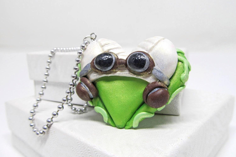 Hera Syndulla heart-shaped necklace on Etsy