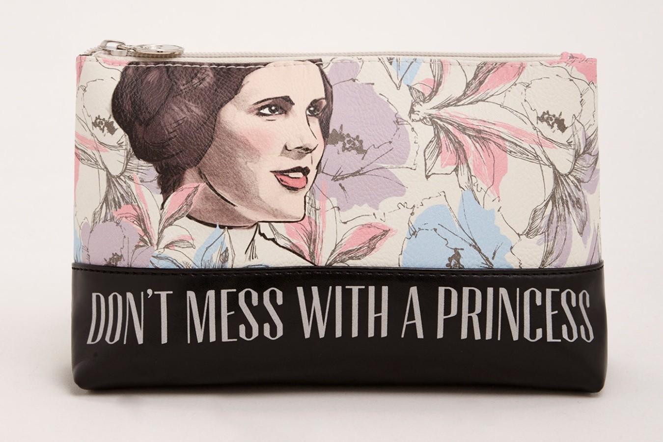 Princess Leia Floral Makeup Bag at Torrid