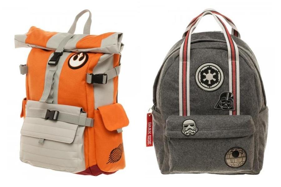 New Bioworld x Star Wars Backpacks