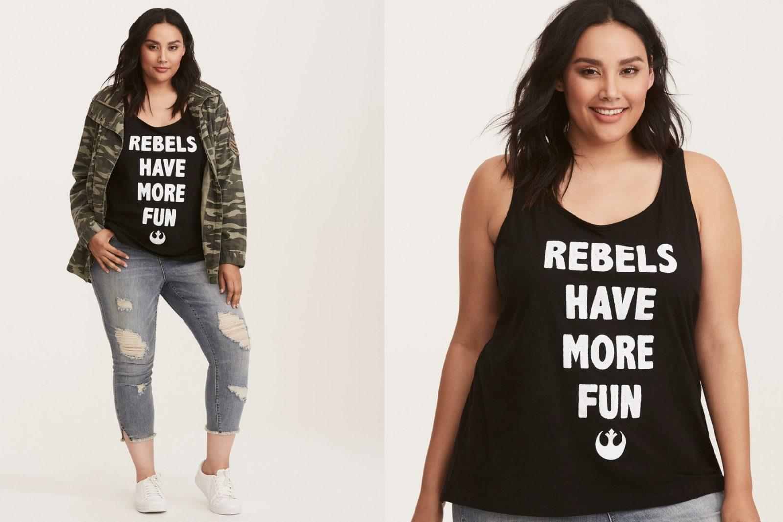 Women's Rebels Have More Fun Tank Top