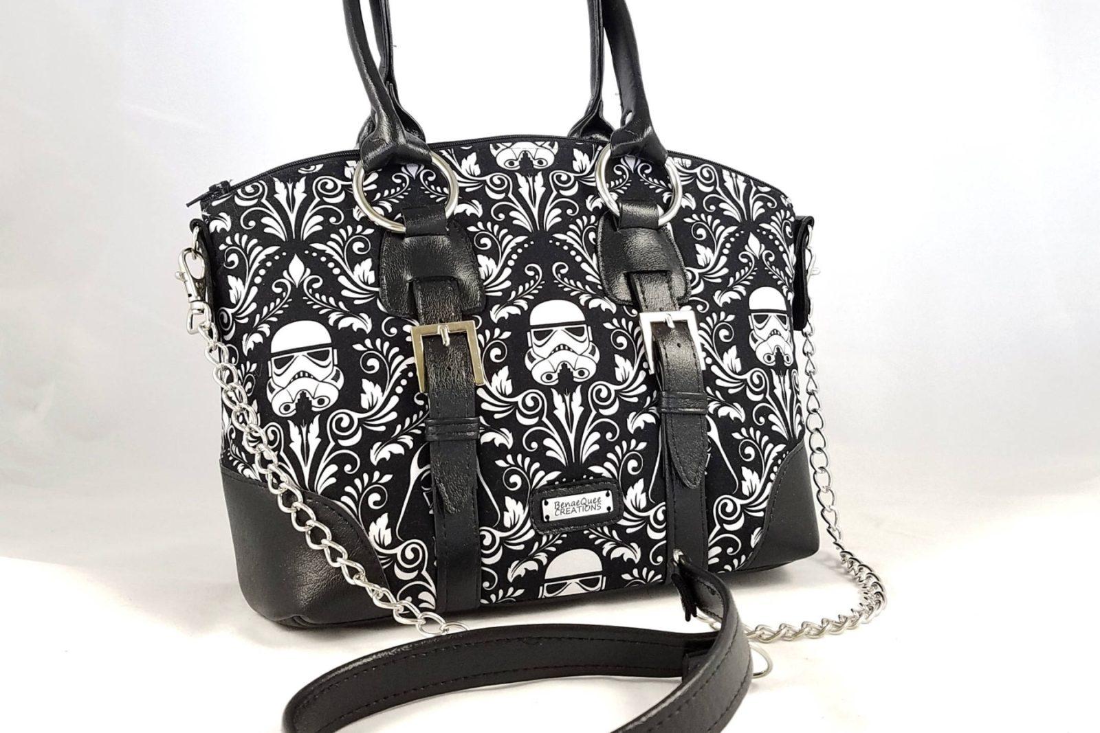 Stormtrooper Handbag by BenaeQuee Creations