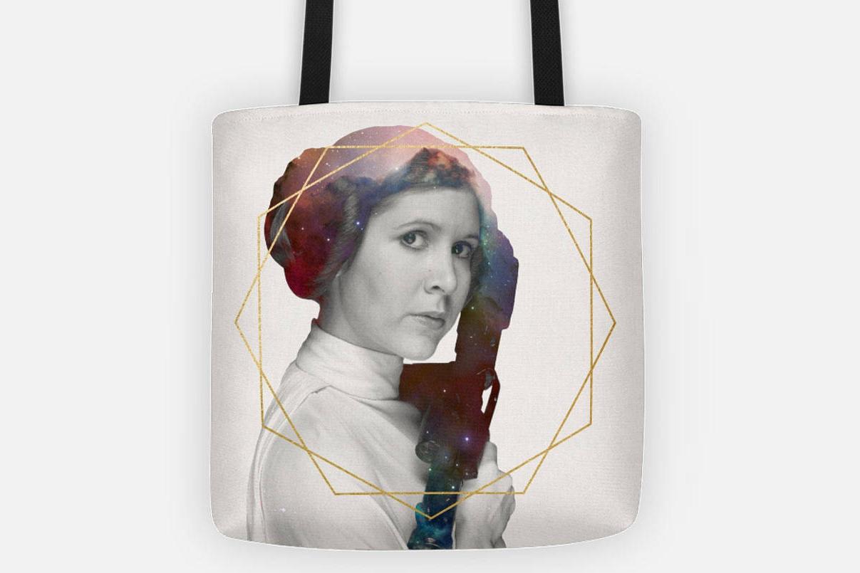 Gorgeous Princess Leia Tote Bag on Etsy