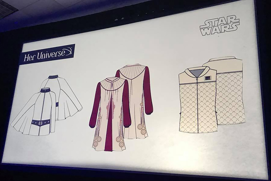 New Her Universe Star Wars Fashion Revealed