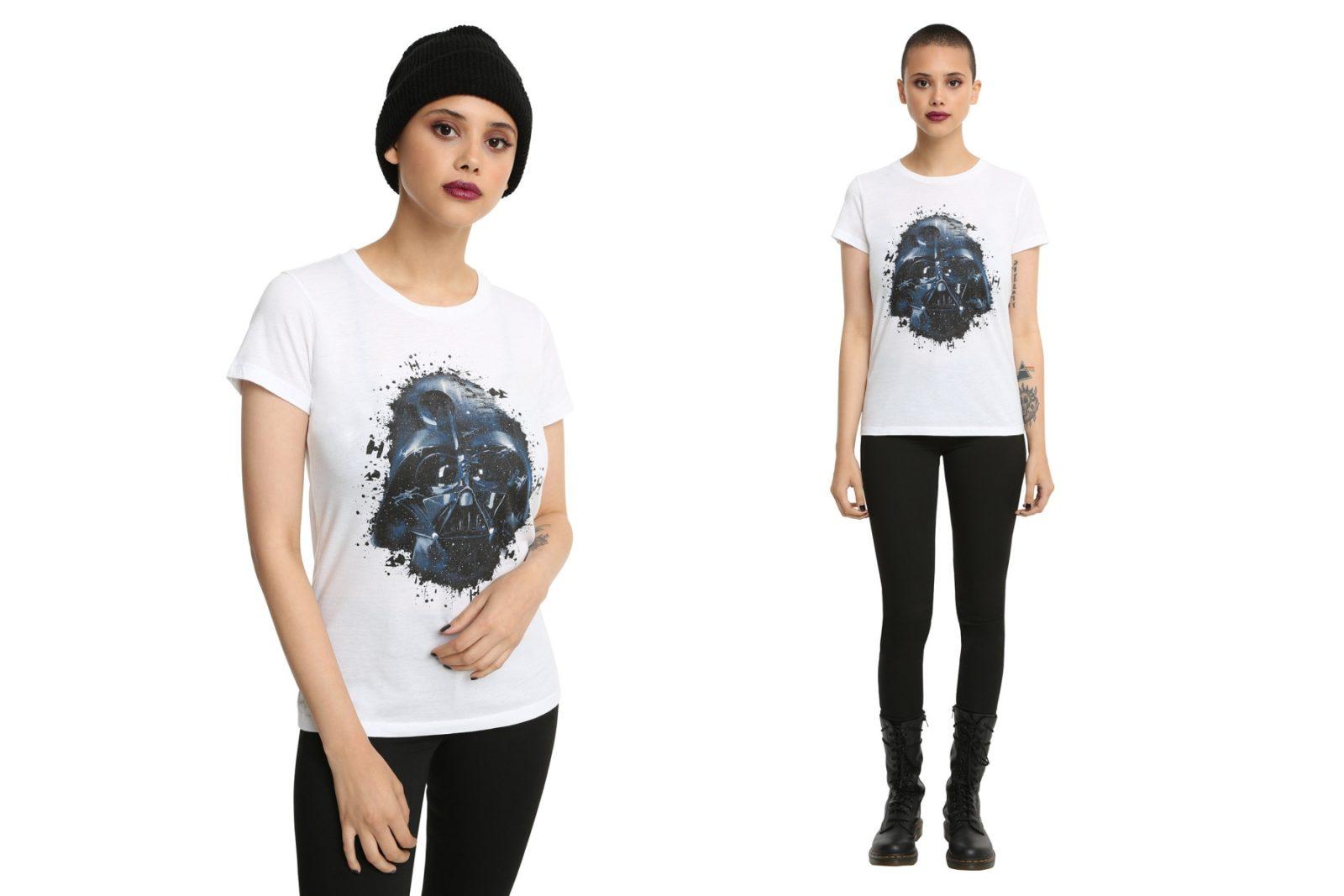 Women's Darth Vader T-Shirt at Hot Topic