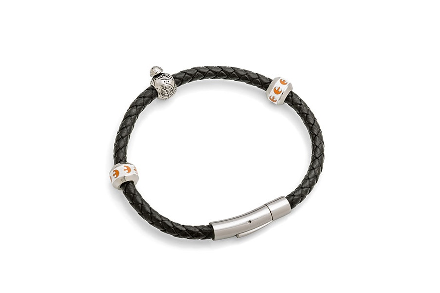 Star Wars BB-8 bead bracelet at ThinkGeek