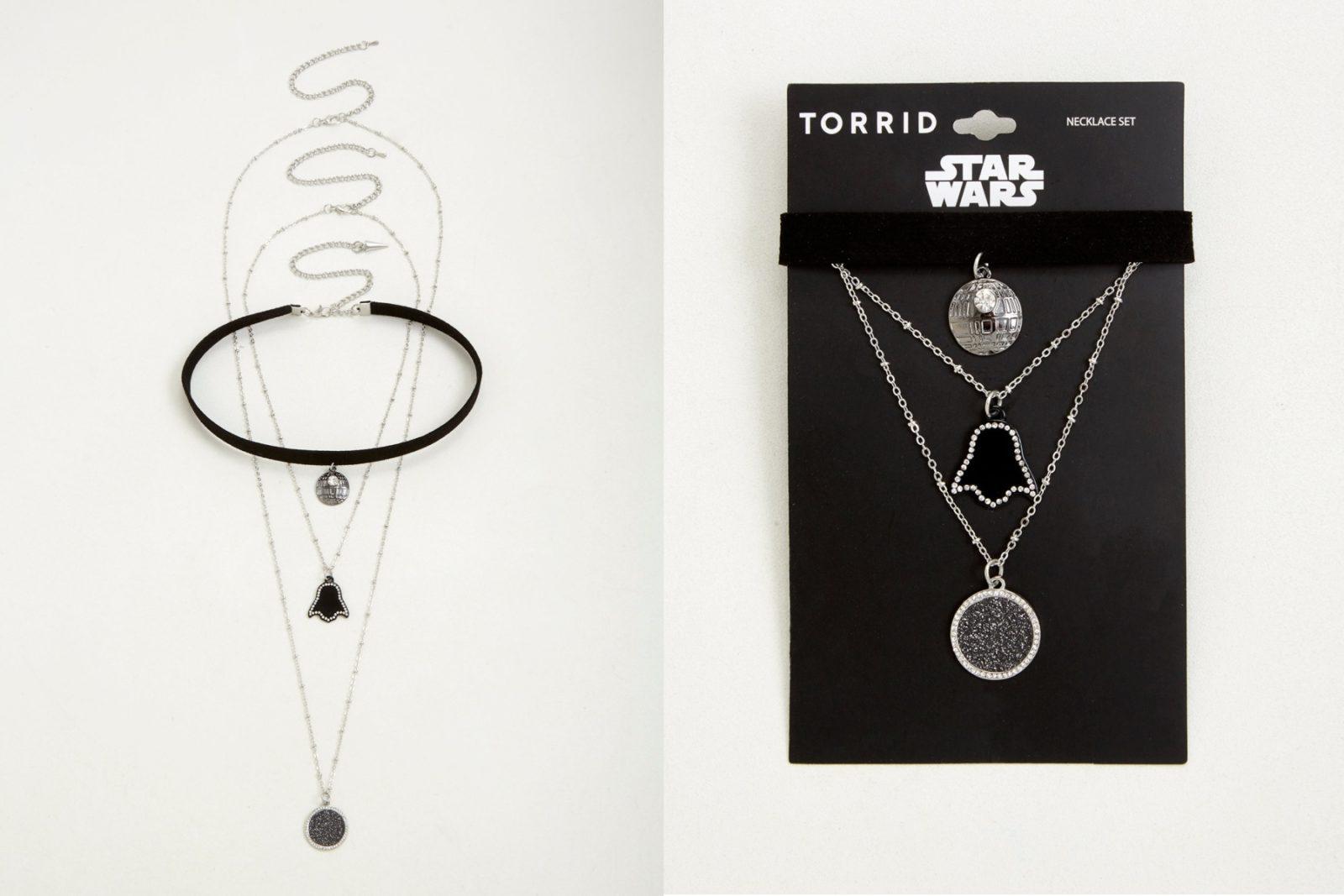 Star Wars Layered Choker Necklace Set