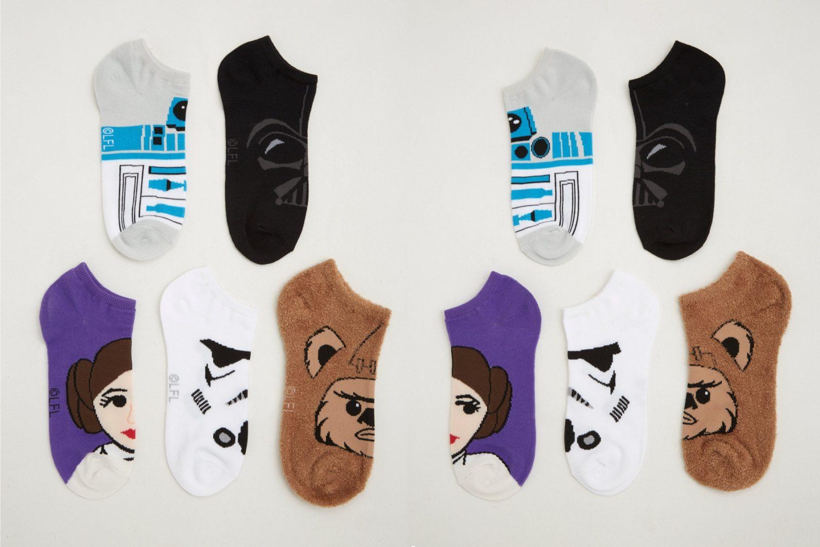 Women's Star Wars Ankle Sock 5-Pack