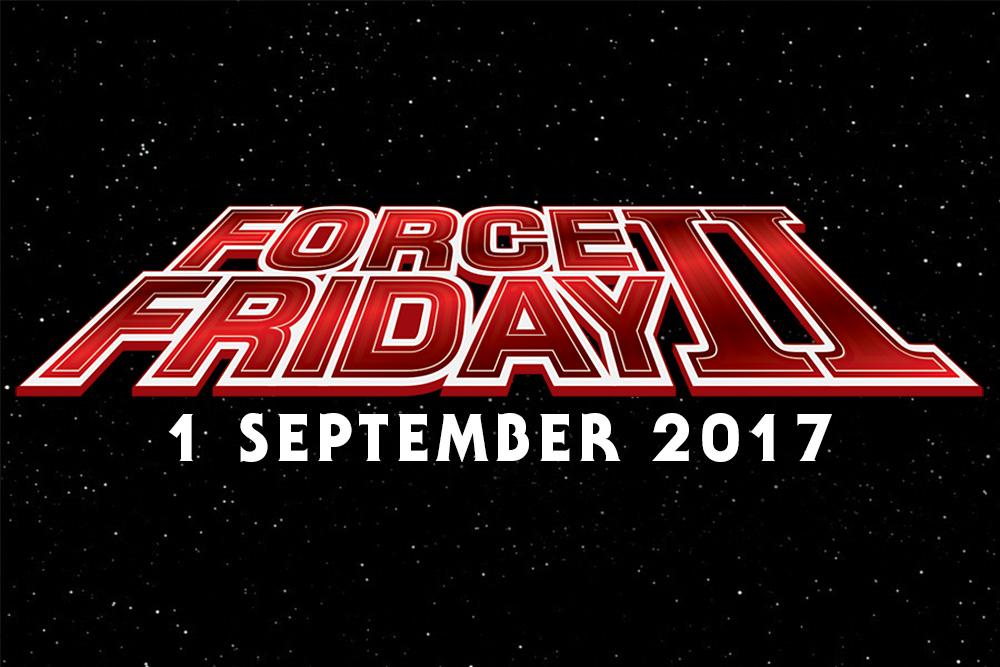 Star Wars The Last Jedi Force Friday II 2017