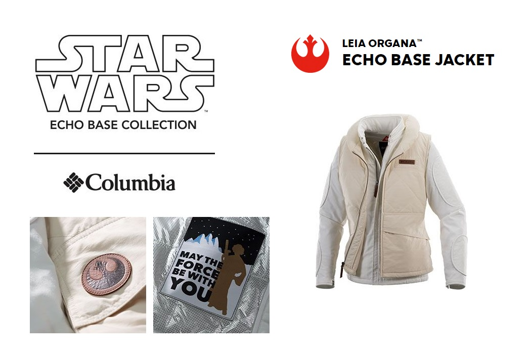 New Columbia x Star Wars Hoth Jacket Collection