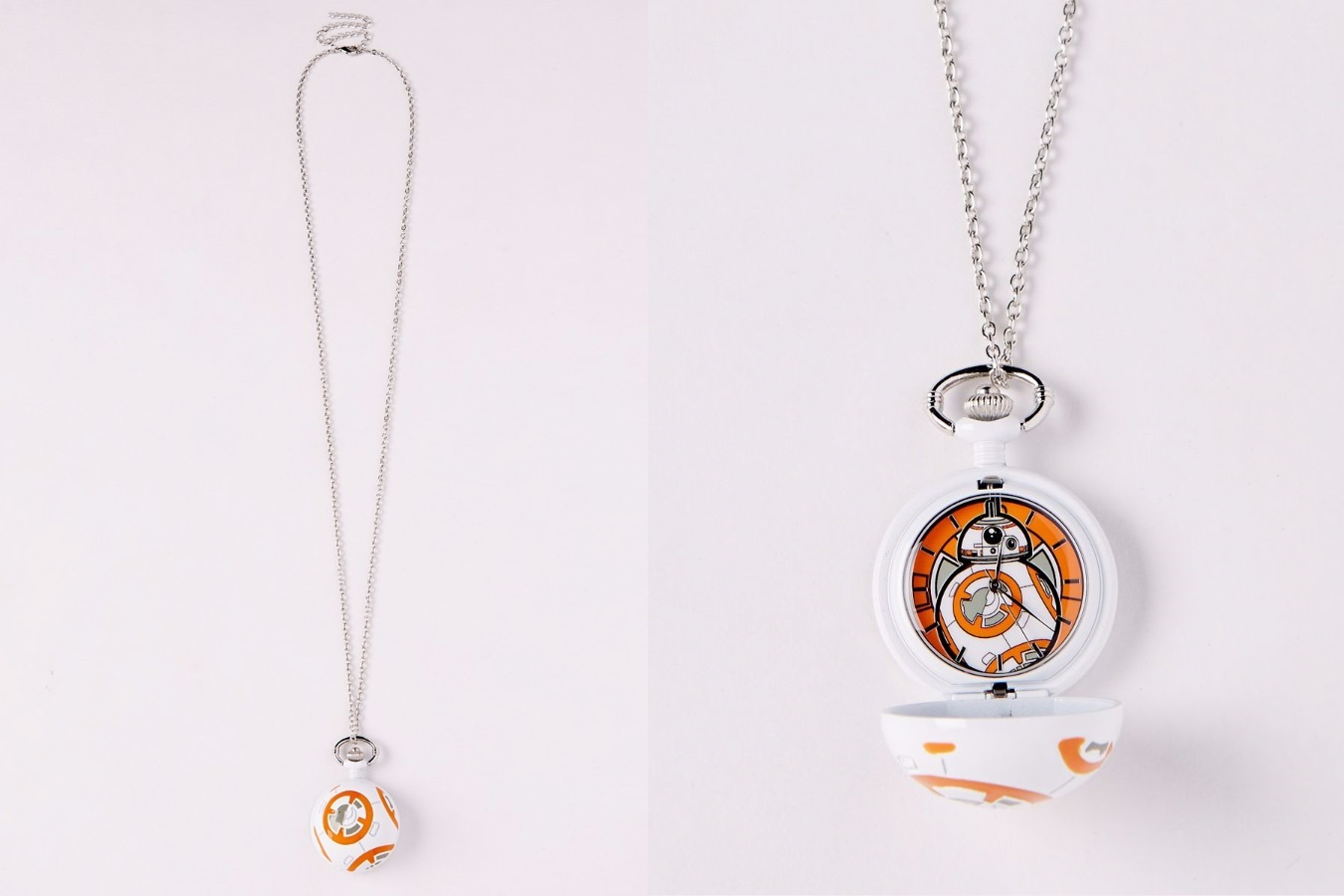 BB-8 Necklace Pocket Watch at Spencers