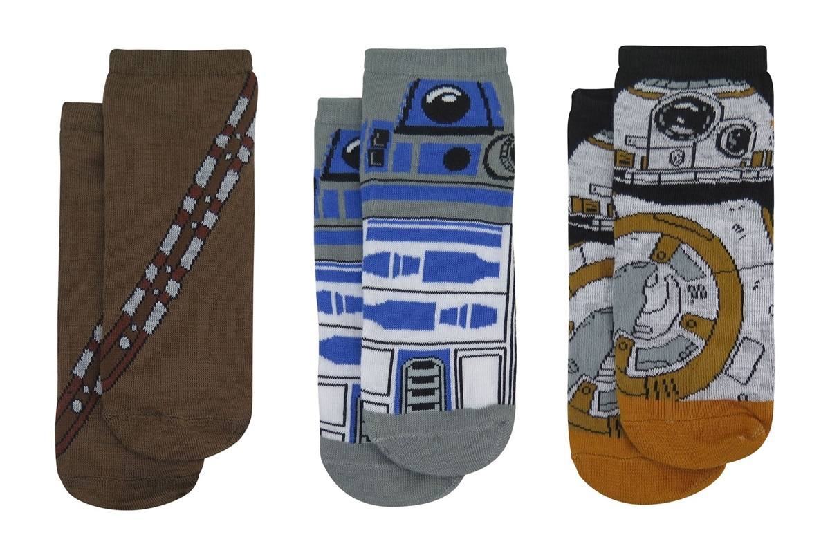 Women's Star Wars Low Cut Sock 3-Pack