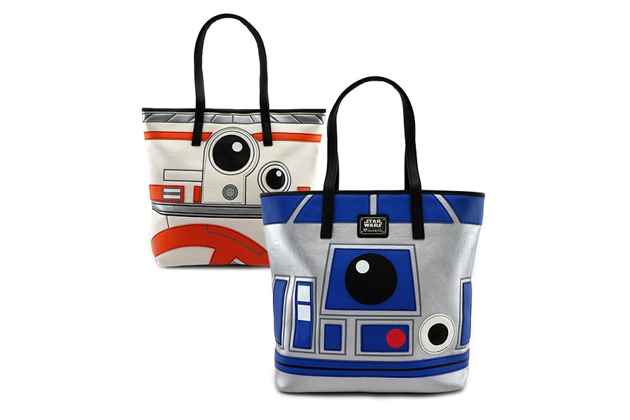 R2-D2 & BB-8 2-Sided Tote Bag at ThinkGeek