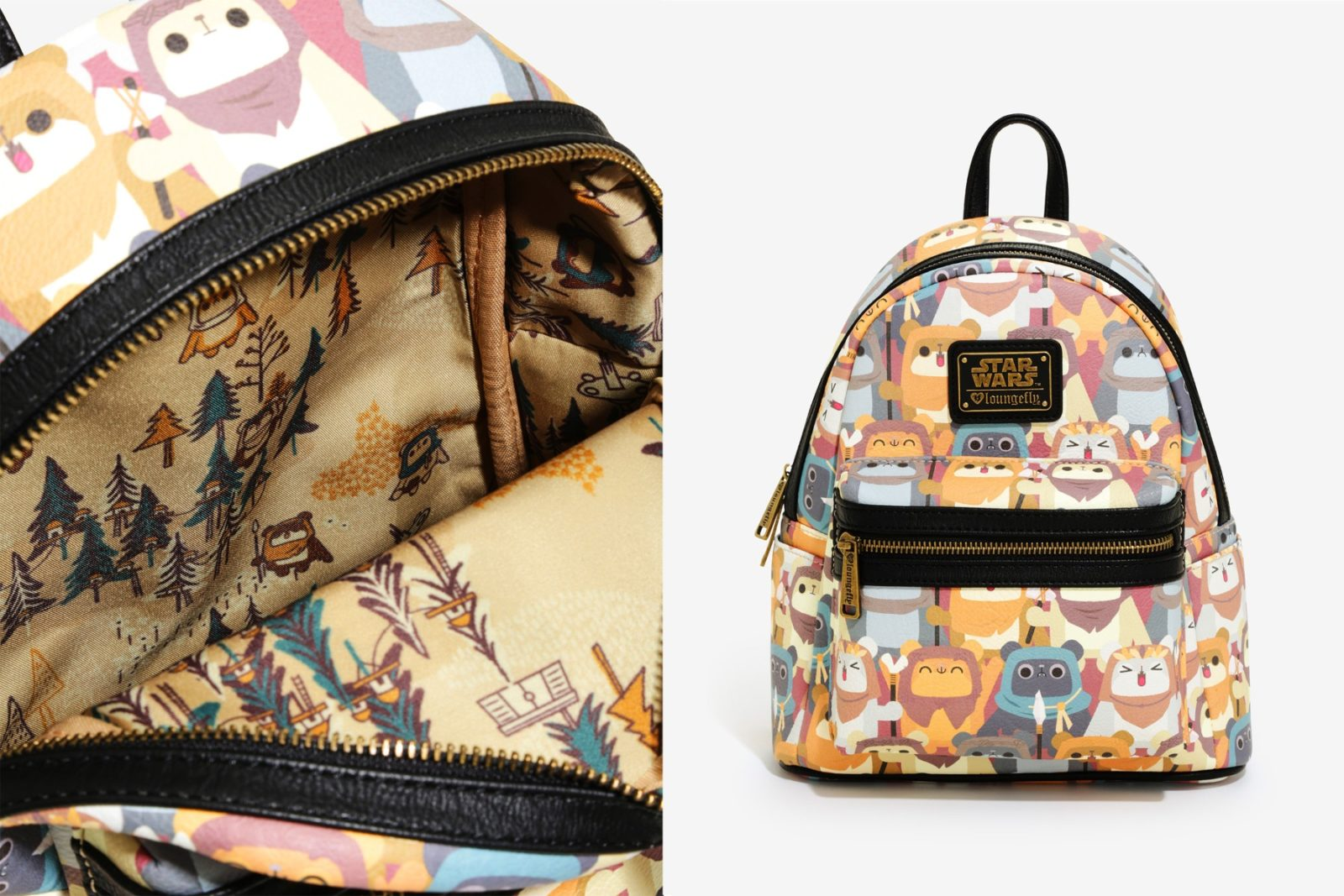 Loungefly Ewok Mini Backpack at Box Lunch
