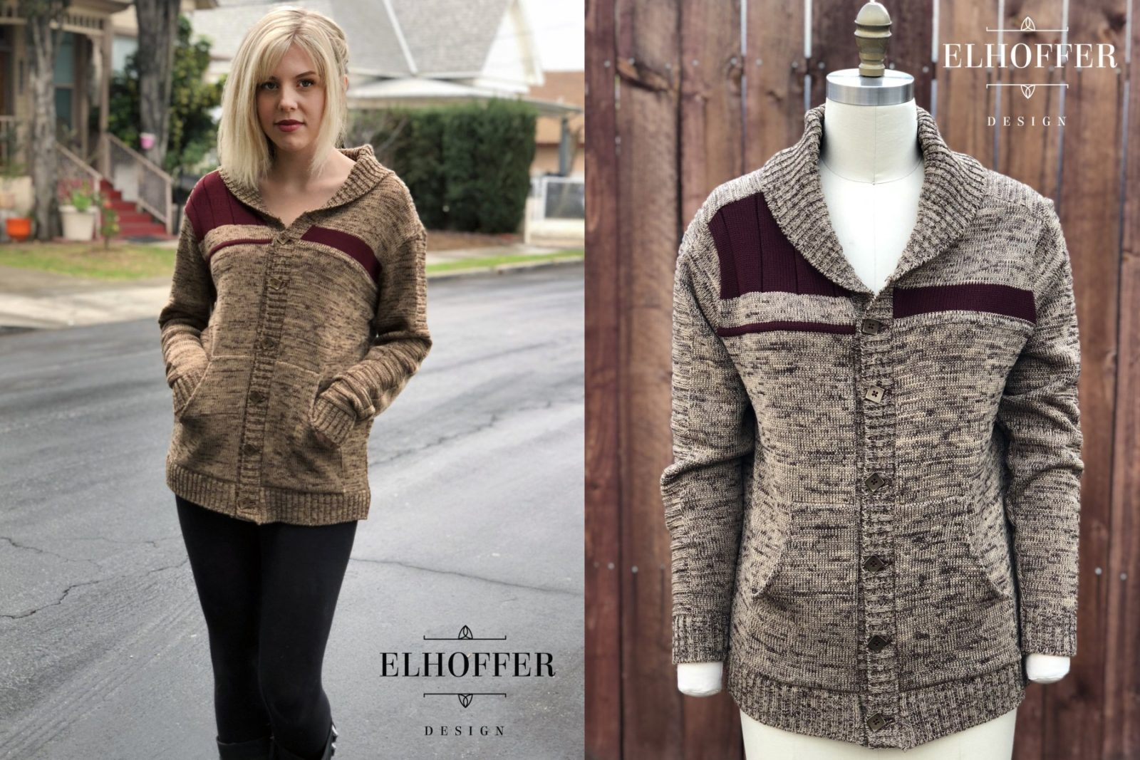 New Bromance Cardigan by Elhoffer Design