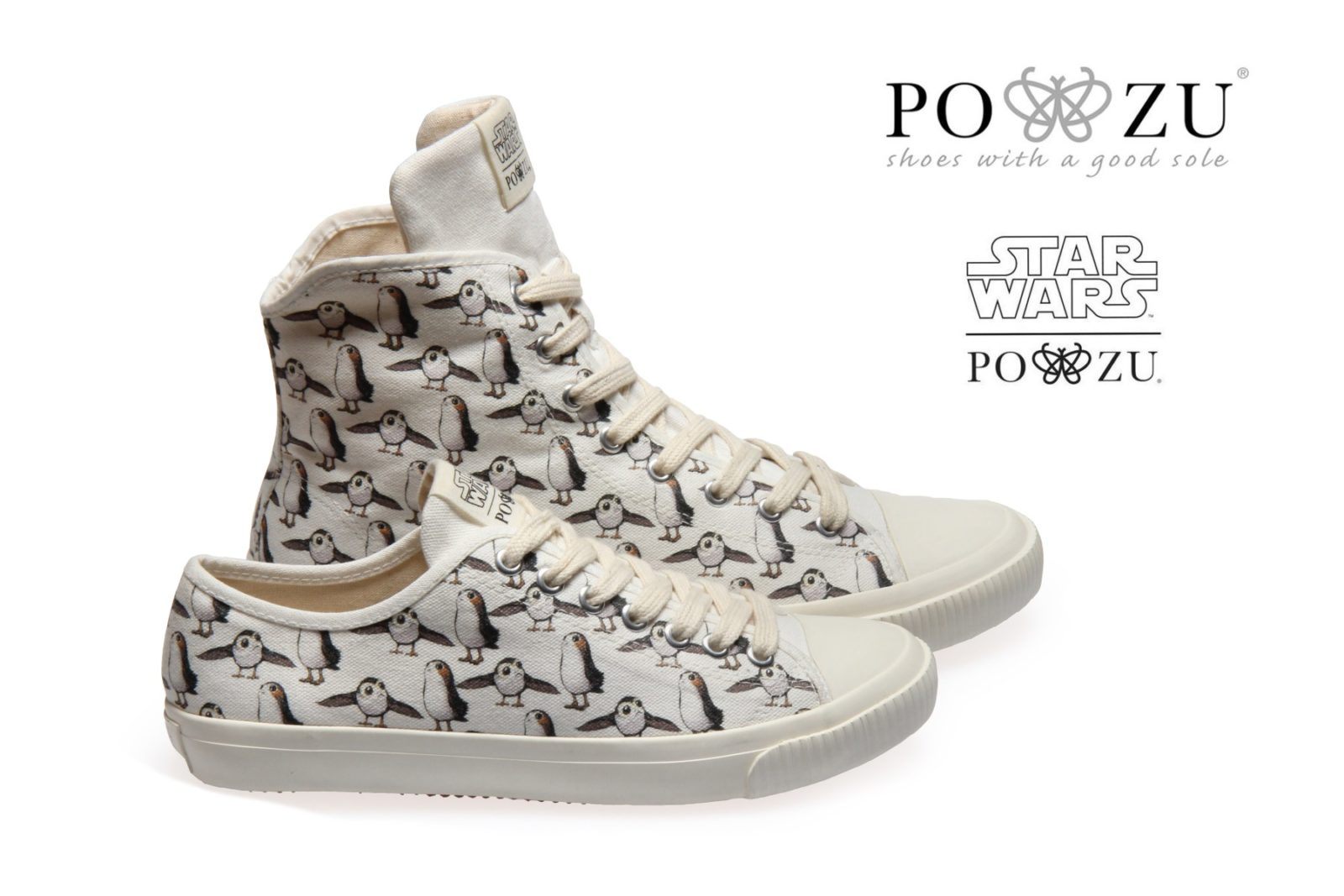 New Po-Zu Star Wars Porg Sneakers Available
