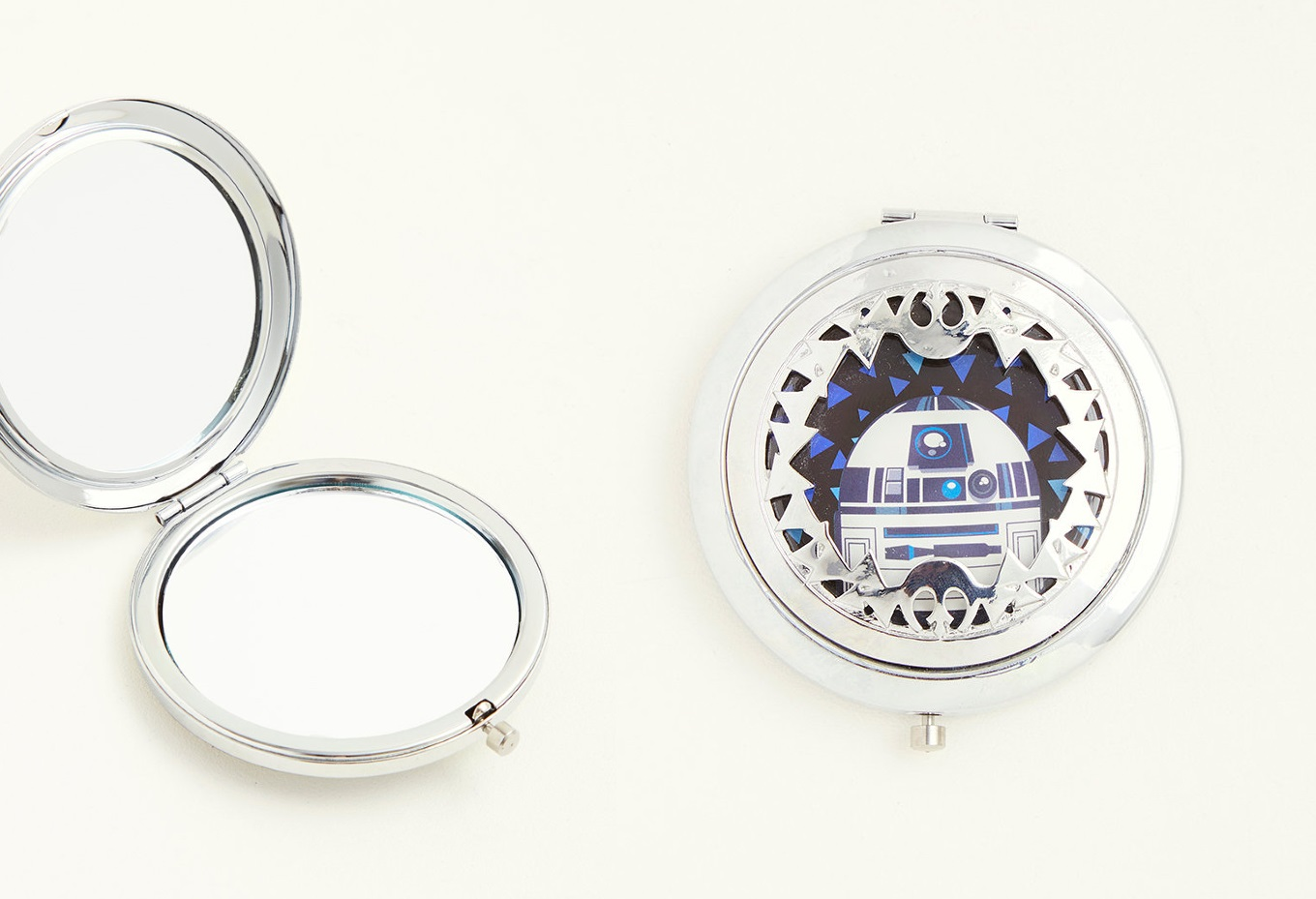 R2-D2 Cut-Out Pocket Mirror at Torrid