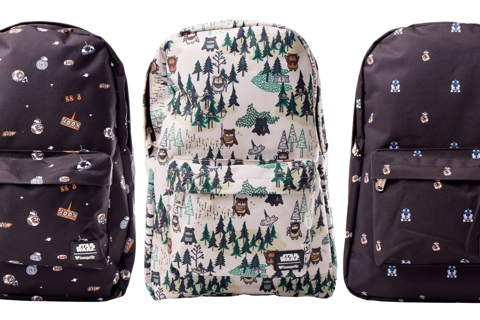 New Loungefly x Star Wars Backpacks