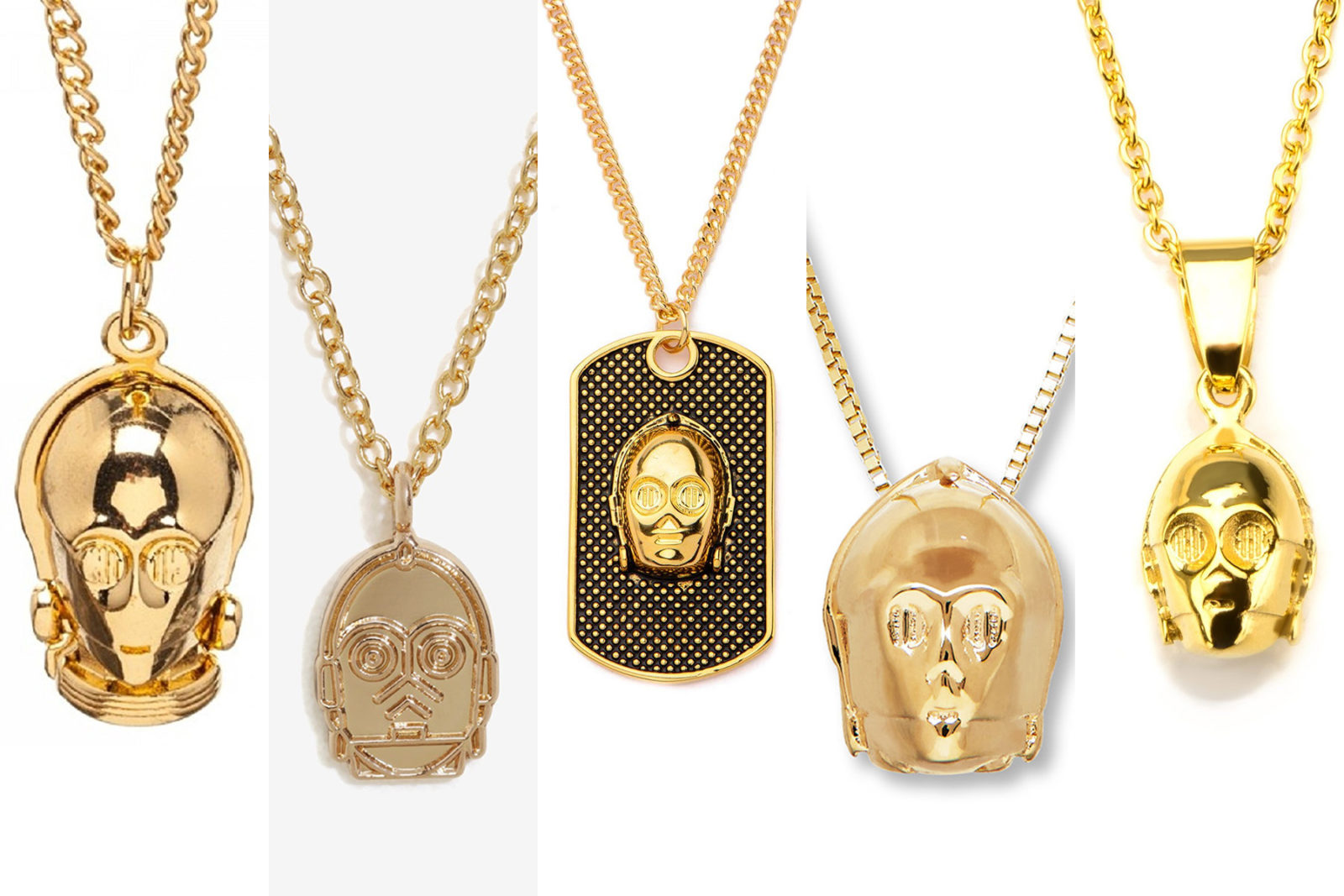 Leia's List – C-3PO Necklaces