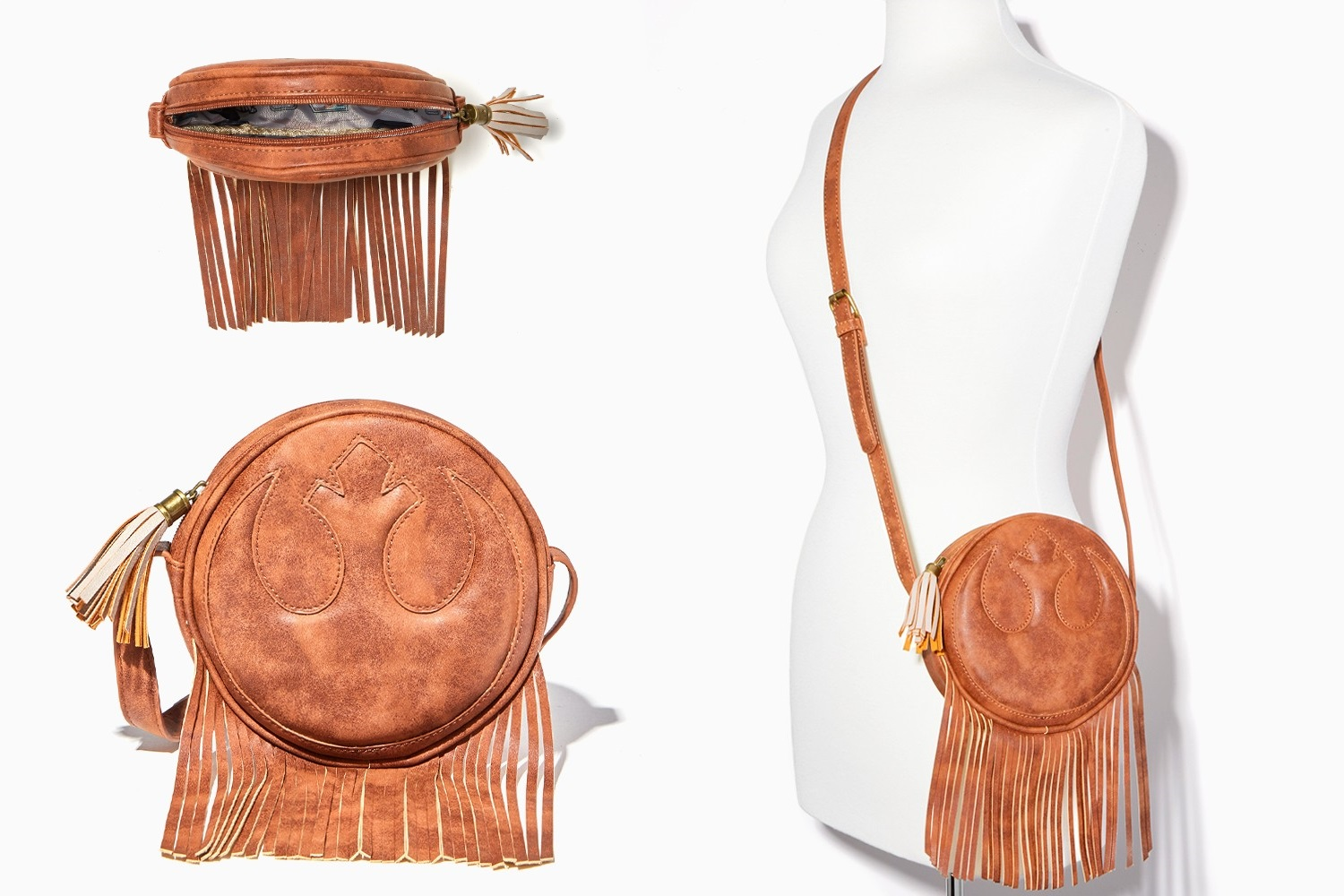Star Wars Rebel Jedi Fringe Crossbody Bag