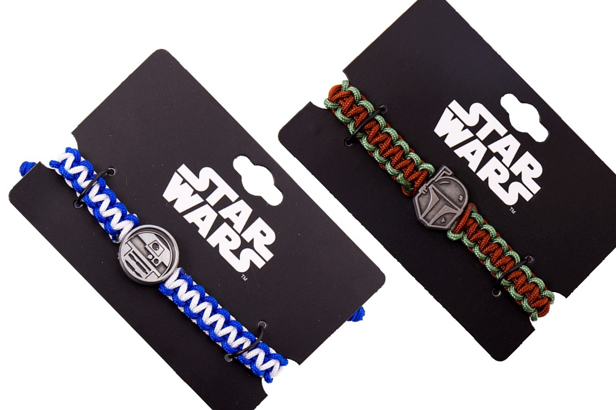 Star Wars Cord Bracelets at Zing NZ & AUS