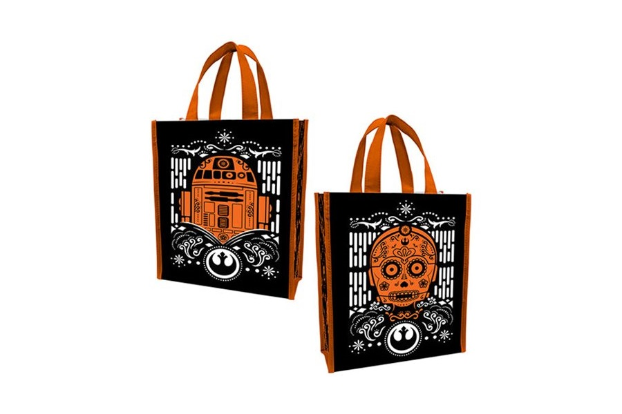 R2-D2 and C-3PO Halloween Tote Bag