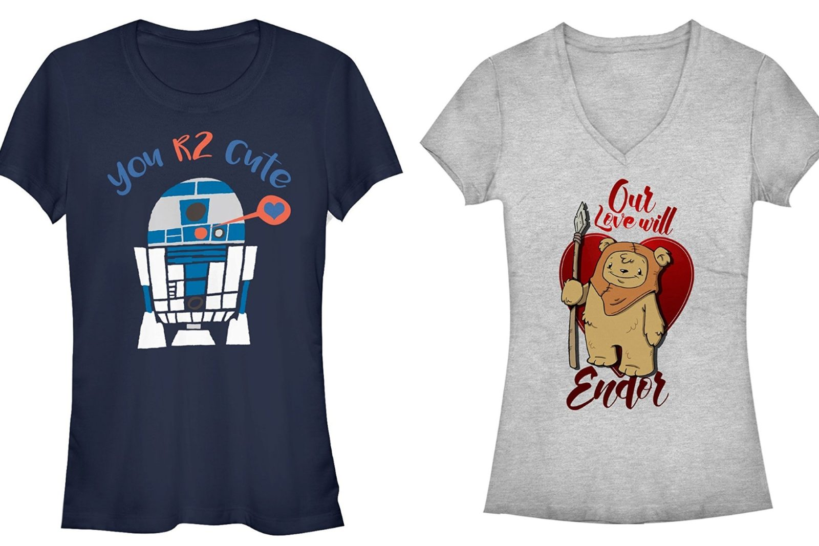 Star Wars Valentine's Day Tops at Fifth Sun