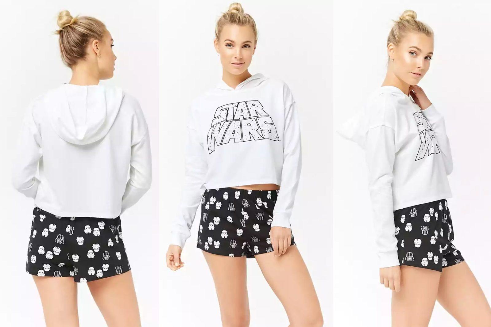 Star Wars Logo Pyjama Hoodie at Forever 21